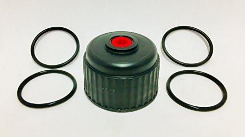 (VP Racing Fuels 3042 Jug Cap w/4 Heintz Replacement Viton O-Ring for VP Racing Fuels Jug Caps)