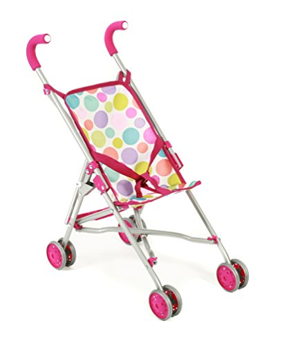 Bayer Chic 2000 601 17 - Mini-Buggy Roma, Puppenwagen, Pinky Bubbles, pink