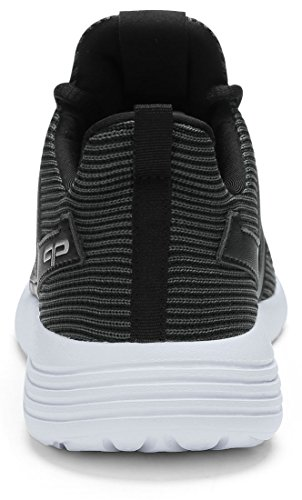 PYPE 6 US Training Lightweight Women's Black Mesh Sneakers Size rq0rSOw