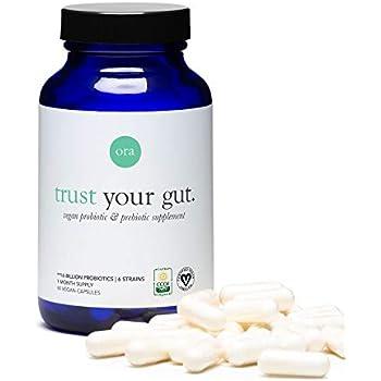 Ora Organic Trust Your Gut Vegan Probiotic & Prebiotic