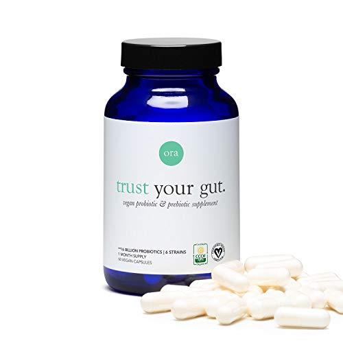 Ora Organic Probiotic Capsules with Prebiotics