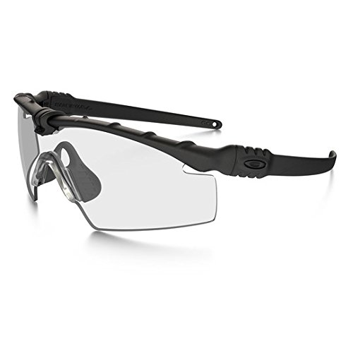Oakley SI Ballistic M Frame 3.0 Array with Black Frame and Clear, Grey and Persimmon ()
