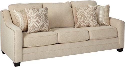 Benchcraft - Mauricio Contemporary Upholstered Sofa - Linen