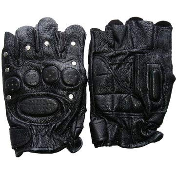 Motorcycle Motorcycle Gloves - 2 Pair Half Finger Tactical Gloves Fighting Field Rraining Protective Glove - 2 X Pair of Fighting Glove