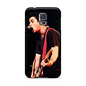 Samsung Galaxy S5 Tlw15976XXuV Provide Private Custom High-definition Green Day Band Image Durable Hard Cell-phone Cases -JonBradica