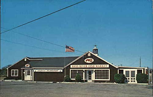 Bass River Fish Market and Seafood Restaurant South Yarmouth, Massachusetts Original Vintage ()