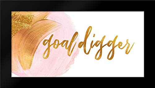 Goal Digger Framed Art Print by Apple, Tammy