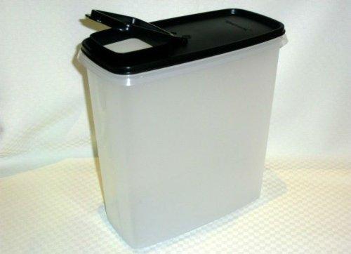 Tupperware Modular Mates Super Cereal 20 Cup Storer Jet Black
