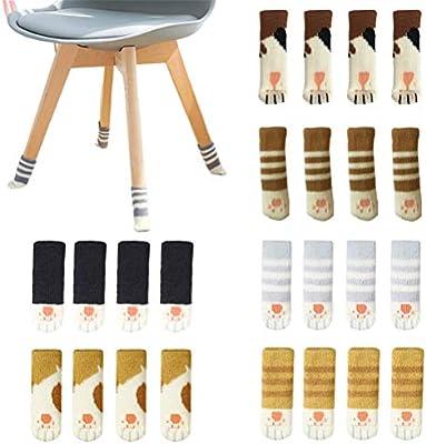 Calcetines para patas de mesa de silla, diseño de patrón de punto ...