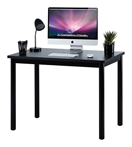 Cheap Fineboard 39″ Home Office Computer Desk Writing Table, Black