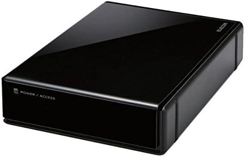 エレコムセキュリティ対策用ハードディスク 4TB ELD-EEN040UBK 1台 ds-2141187