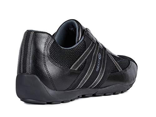 Baskets chaussures perméable Mode élastique Schwarz gars U923fc Homme pantoufles L'air Ravex De Geox À slipon Chaussures Sport 3jqcA54LR