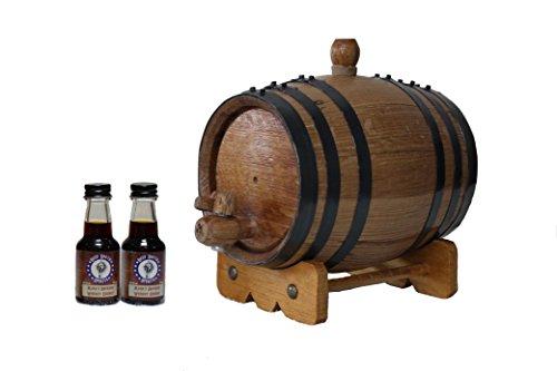 1-Liter American White Oak Barrel Bourbon Kit by Deep South Barrels