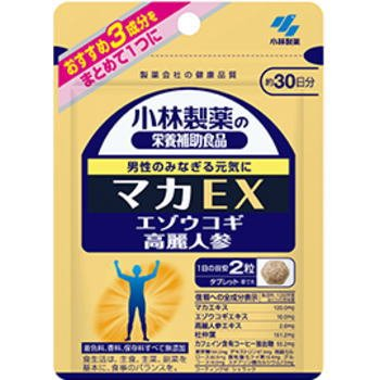小林製薬 マカEX 60粒×3個セット B0743CGK5H