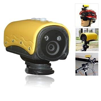 Camara DVR para Deportes y Accion sport sumergible hasta 20 metros y con detector de movimiento
