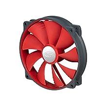 Deepcool DC Fan UF 140R 140mm Red Case Fan (DP-FUF-UF140R)