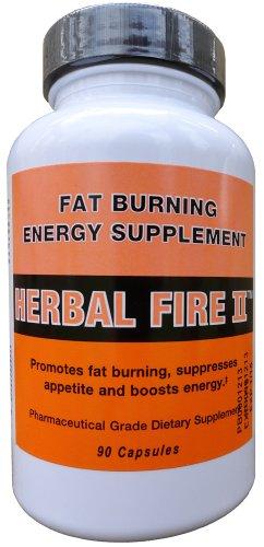 Herbal Fire II - supplément de perte de poids thermogénique Fat Burner métabolisme Booster & Appétit - Le moyen facile de perdre du poids rapidement!
