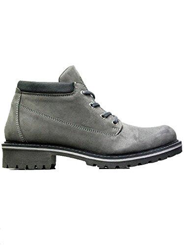 Men's ankle dock boots grey-UK 9 / EU 43 / US 10