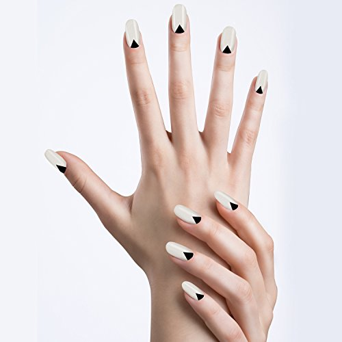 UPC 647409986384, Angel Beauty - Premium Nail Wraps - High Heels Black and White, Real Nail Polish, Salon Effect, Instant Manicure,Includes 20 Nail Wraps with Different Sizes for Fingers or Toes