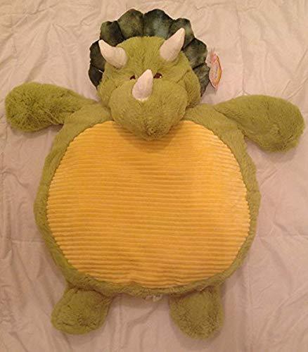 KellyToy Plush Baby Mat Dinosaur Green Triceratops by Kelly Toy