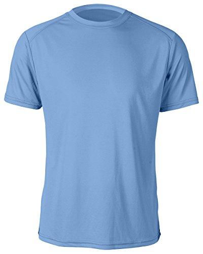 Paragon Mens Microfiber Anti Microbial T Shirt  Bimini Blue  Xx Large