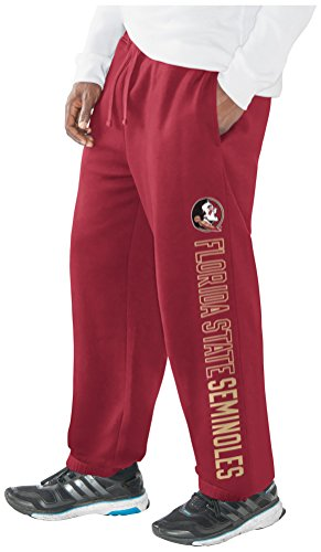 NCAA Florida State Seminoles Men's Perfect Game Sweatpant, Garnet, X-Large