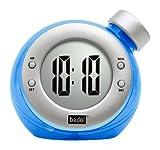 Water Powered Clock Round, Blue