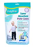 PottyMate - Potty Liners with Super Absorbent Pad, Pack of 36 Universal Size Liners - with a Target to Encourage Proper aim - Light Scent - Fits All Size & Brand Potties