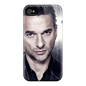 LauraFuchs Apple Iphone 4/4s Best Hard Cell-phone Cases Support Personal Customs Colorful Depeche Mode Band Pattern [PGC1371LYTm]