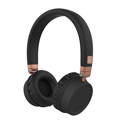 d5bb5be3abc3d5 KitSound Harlem Wireless Bluetooth On-Ear Headphones: Amazon.co.uk:  Electronics