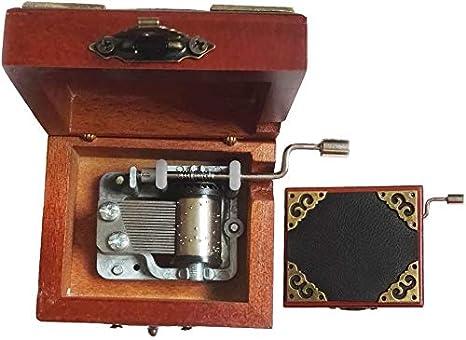 18 Notas antiguos de la mano de encaje Opere la caja musical de ...