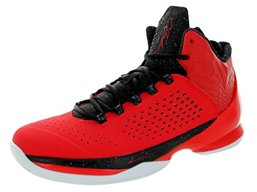 Nike Jordan Mens Jordanië Melo M11 Universiteit Rood / Zwart / Zwart / Wht Basketbalschoen 11.5 Mannen Ons
