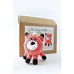 DIY Beginner Crochet Kit (Fox)