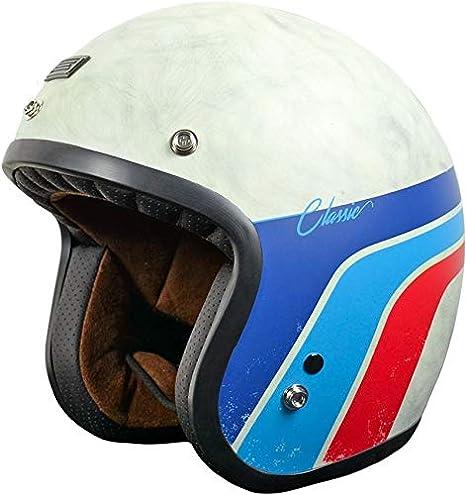 Casco de moto jet Caf/è Racer L Bronze Matt Origine Primo Scacco