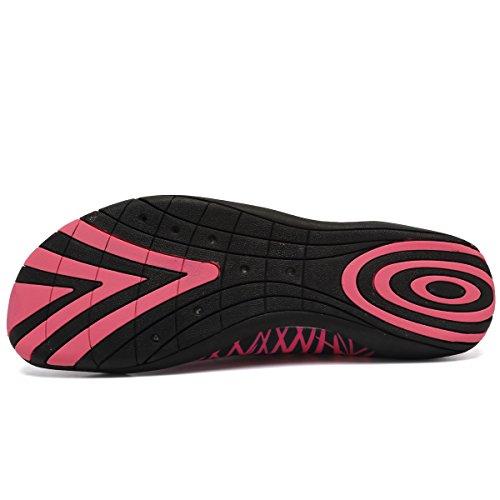 R Outdoor on Quick Aqua Men System CIOR Dry Shoes Drainage Sport Pink01 Women dark Water Slip O4SWqxAB