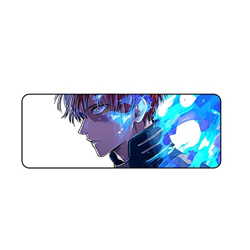 GALIGEIGEI My Hero Academia Gaming Mouse Pad-Stitched Edges Extended Fast Mouse Pad 31.5 Lx11.8 W x0.12 H(08) by GALIGEIGEI