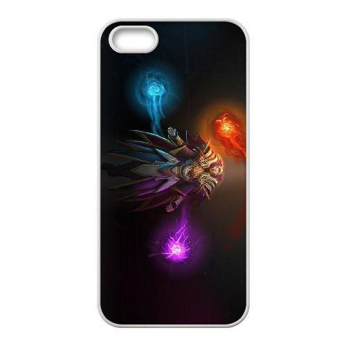 H6H22 Invoker Dota X5D4UF coque iPhone 4 4s cellule de cas de téléphone couvercle coque blanche KM1DMX7OY