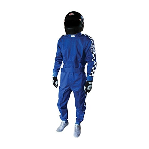 Finishline SFI-1 Qualifier 1-Piece Racing Suit, Black XXXXL by Finish Line (Image #3)