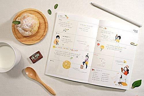 Uteruik 6 Fogli Cute Lovely Girls Versione 2 Adesivo Decorativo Nastro Adesivo//Bambini Craft Scrapbooking Sticker Set per diario Album riviste