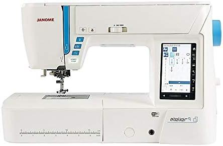 Janome MC 9850 N/äh und Stickmaschine