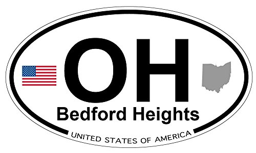 Bedford Heights, Ohio Oval Magnet – Go4CarZ Store