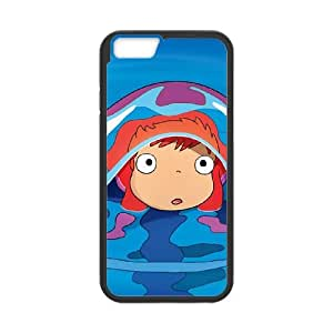Ponyo iPhone 6 4.7 Inch Cell Phone Case Black Ndgci