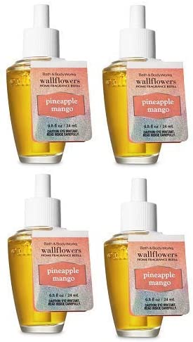 12 Bath /& Body Works PINEAPPLE MANGO Wallflower Refill Bulbs