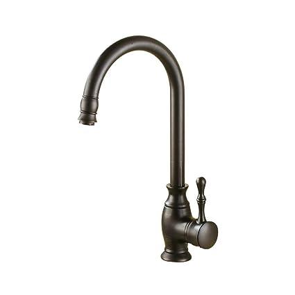 Excellent Yee Kitchen Sink Black Bronze Faucet Brass European Style Download Free Architecture Designs Sospemadebymaigaardcom