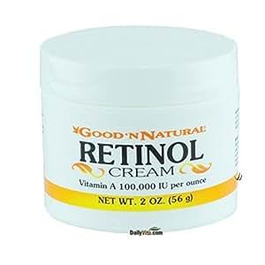Retinol Cream Good 'N Natural 2 oz Cream