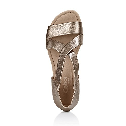 Shoes Bout Gabor Femme Comfort Sandales Étain Ouvert W8watxdpqa