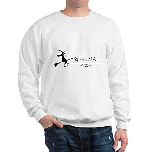 CafePress Salem, MA 1626 Classic Crew Neck Sweatshirt White