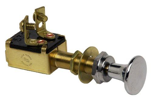 Cole Hersee (M-628-BP) SPST Push-Pull Switch