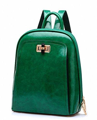 Bestbag Handbag Ladies Bag Shoulder Bag Candy Color Portable Shoulder Handbag School F33(green)