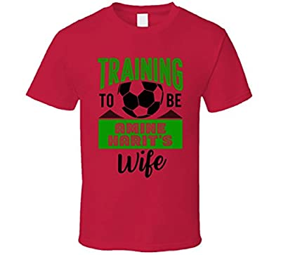 Amine Harit Training to Be Wife Morocco World Cup 2018 Football Fan T Shirt
